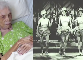 102-Year-Old Dancer Watches Herself Perform for the FIRST Time. Beautiful.