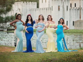 Expectant Moms Dazzle in Disney Princess-Inspired Photo Shoot