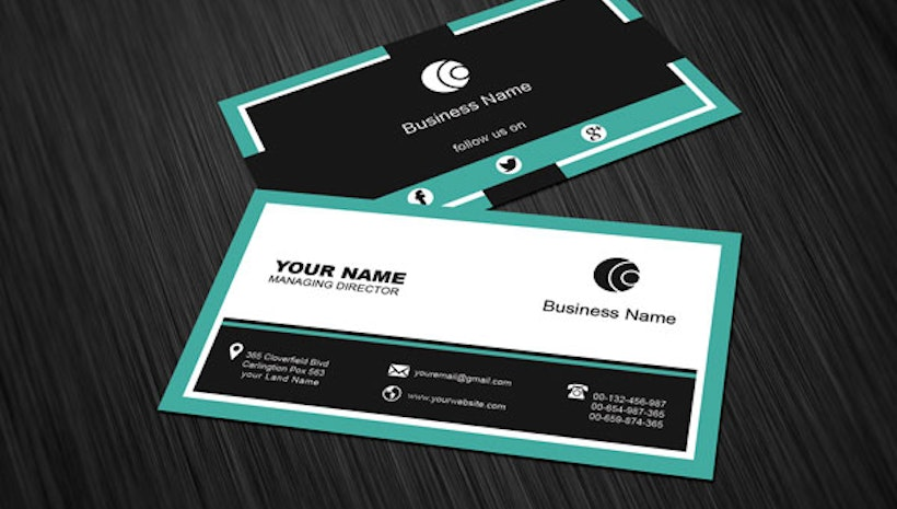 5 tips to share social networking info in your business card mogul. Black Bedroom Furniture Sets. Home Design Ideas