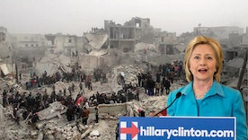 Stop Supporting War Hawk Hillary