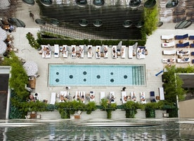 Largest Hotel Pool In NYC Opens to Public This Week