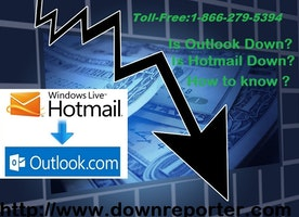 What are the steps to follow when Outlook is down?