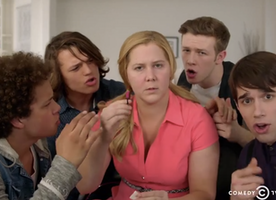 Amy Schumer Sparks Makeup Free Movement with One Direction Parody #girlyoudontneedmakeup