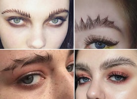 Why I just can't get behind the new eyebrow trends.