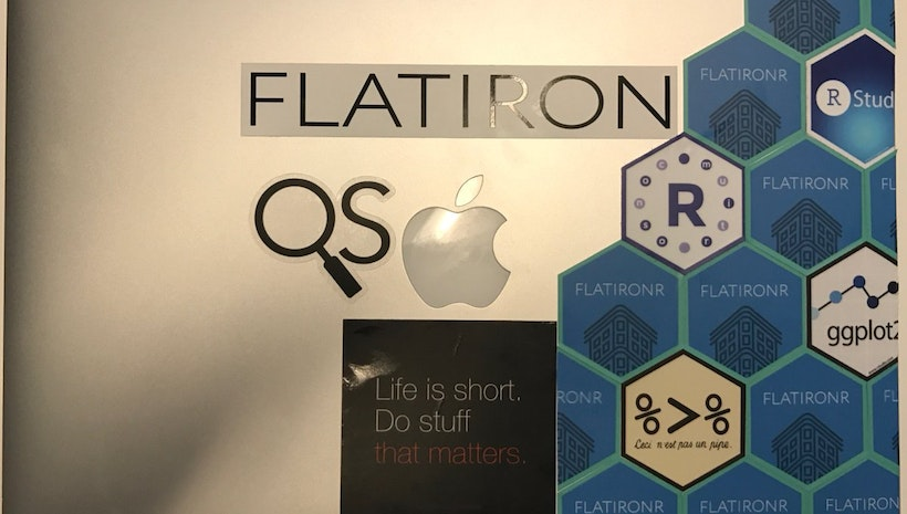 Scavenging for Data Insights with Quantitative Sciences at Flatiron Health