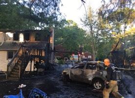 House Fire Destroys College Home at Rowan U