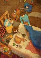 Korean Artist Depicts What Real Love Is in Beautiful Paintings