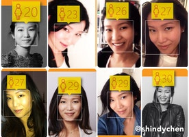 No more guessing how old you look! This new site guesses your age!