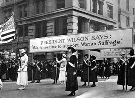 What was the most influential factor leading to the ratification of the 19th Amendment?