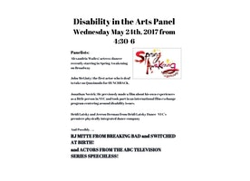 Disability and the Arts