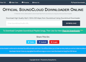 How To Download SoundCloud Songs Online [100% Working Method]
