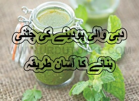 Podine ki chatni recipe in urdu – ramadan special iftar recipes