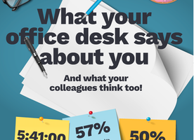 What your office desk says about you - and what your colleagues think too
