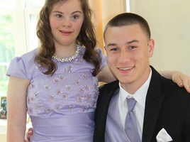 This Will Bring Smiles to Your Heart: Ben keeps childhood promise to take friend with down syndrome to prom