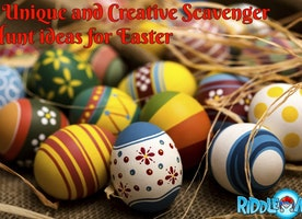 Easter Scavenger Hunt With The Coolest Fiction Characters