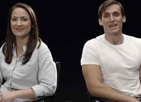 You Will be blown away when you watch this couple age from their 20s to 90s. In seconds.