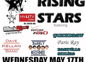 Rick's Rising Stars Returns to Revolution Bar & Music Hall  Wednesday, May 17th with  The Dave Kellan Band, Barely Know Her, Paris Ray, Quickdraw, and Nashville Skyline