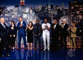 Star-Studded Goodbye to David Letterman