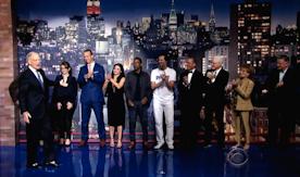 Star-Studded Goodbye to David Letterman
