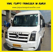 Tempo Traveller in Ajmer | Hire 12 Seater and 16 Seater on Rent...