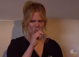 Amy Schumer tolerates this highly intolerable man in the best way!