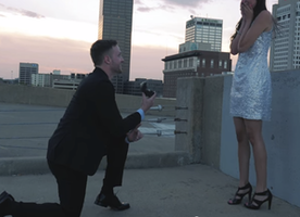 Could Anyone Top This Epic Hollywood Action Movie Proposal? I Don't Think So!