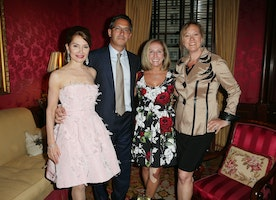 Spotted: On The #UES Jean Shafiroff Throws A Cocktail Party For Upcoming Hamptons Heart Ball