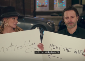 "WATCH NOW: The ""Love Actually"" Sequel is Here, and Kate Moss Is In It."
